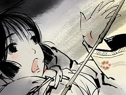 水墨古风漫画《洞仙歌》序章·中