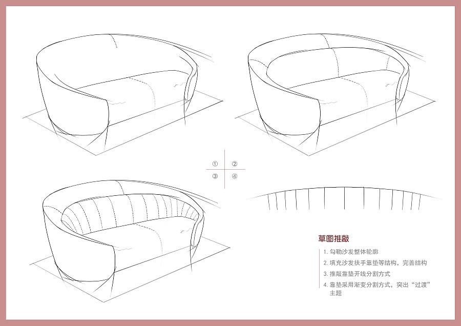 工程图 简笔画 平面图 手绘 线稿 900_636