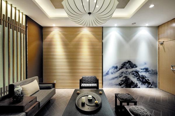 [现代禅意]-陇南茶楼设计|室内设计|空
