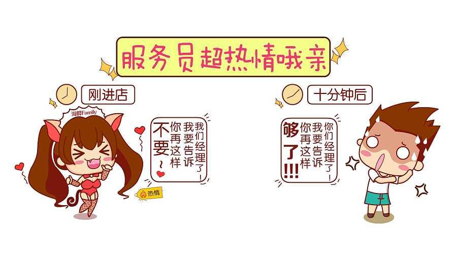 麻辣啪啪啪店铺主题手绘漫画