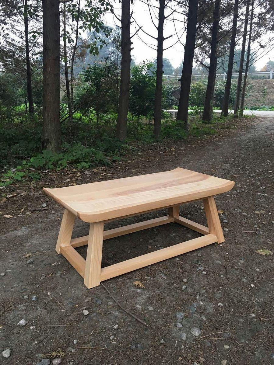 顽木工坊〔飞檐茶几〕|家具|工业/产品|一悟设计