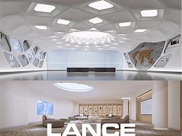 保健品公司总部设计