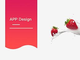 一款APP 的GUI 长图