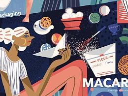 N2 Macaron Packaging