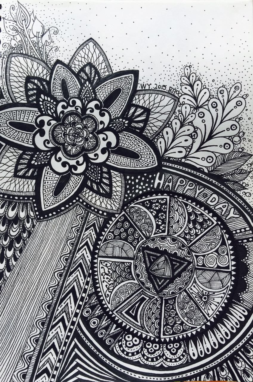 平日的一些手绘线条