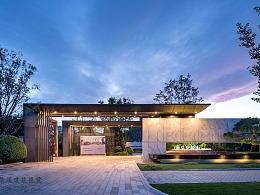 北京华润项目 地产景观设计 实景拍摄