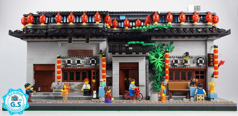 查看《【GS的MOC】中国风-宽·店(北京鼓楼店)》原图,原图尺寸:800x389