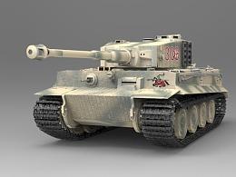 泥泞中的老虎-TigerI Ausfuehrung E