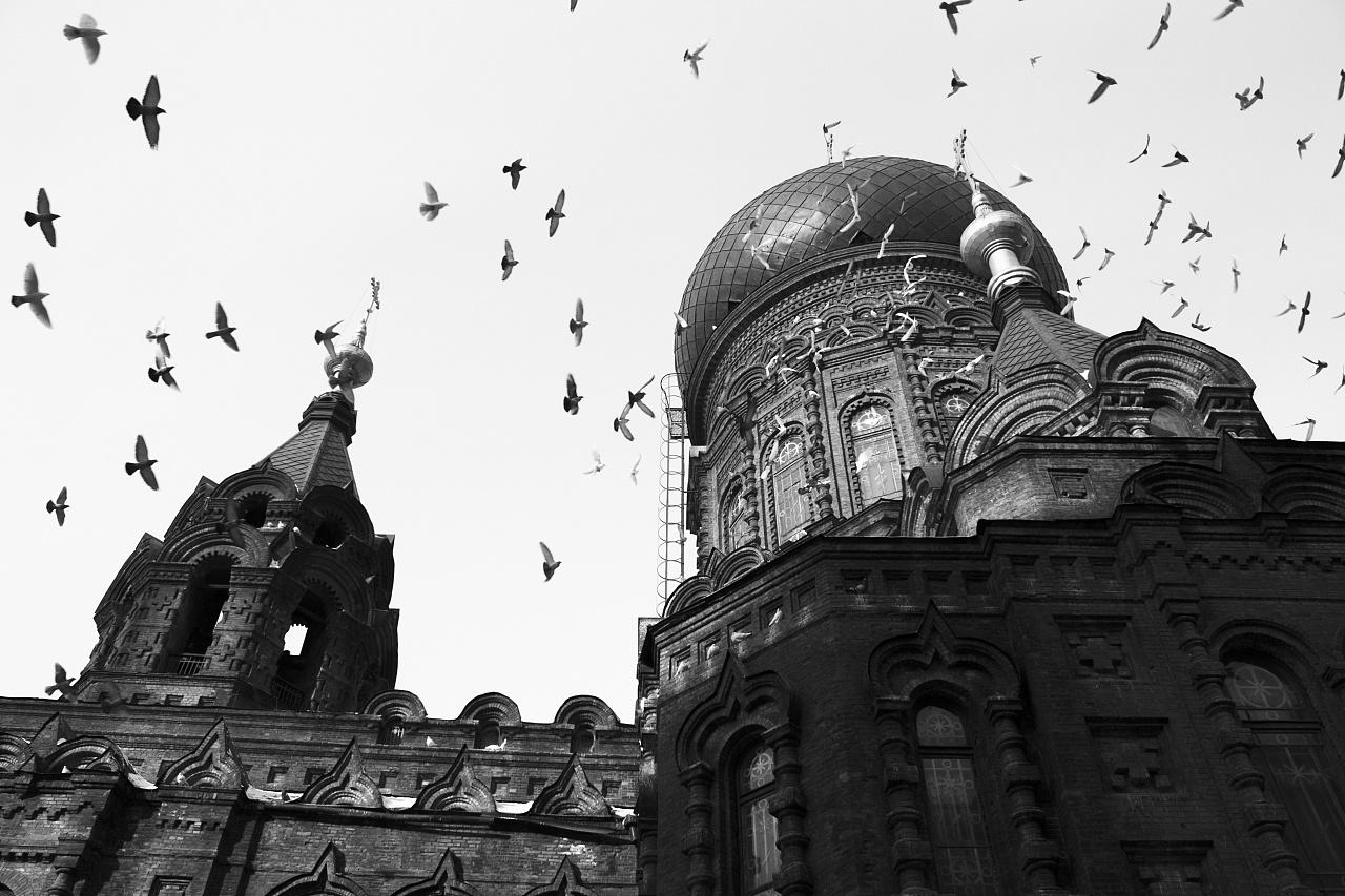 黑白印象·哈尔滨