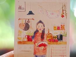 春天的草莓果酱