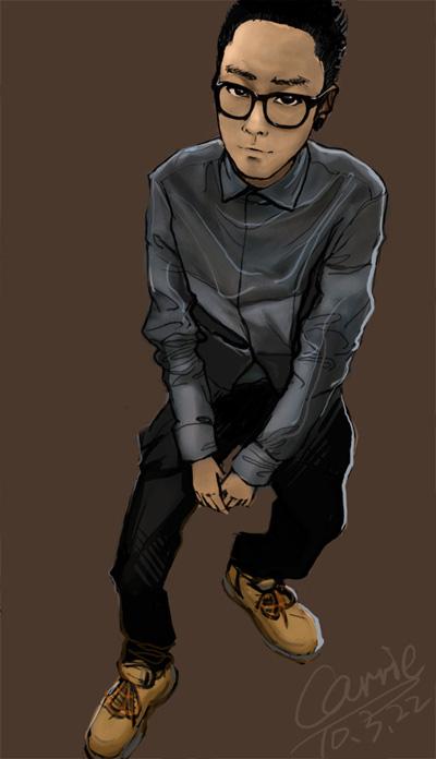 漫画|其他星座|大全|carrie_bxx-原创设计作品寸头插画插画图片