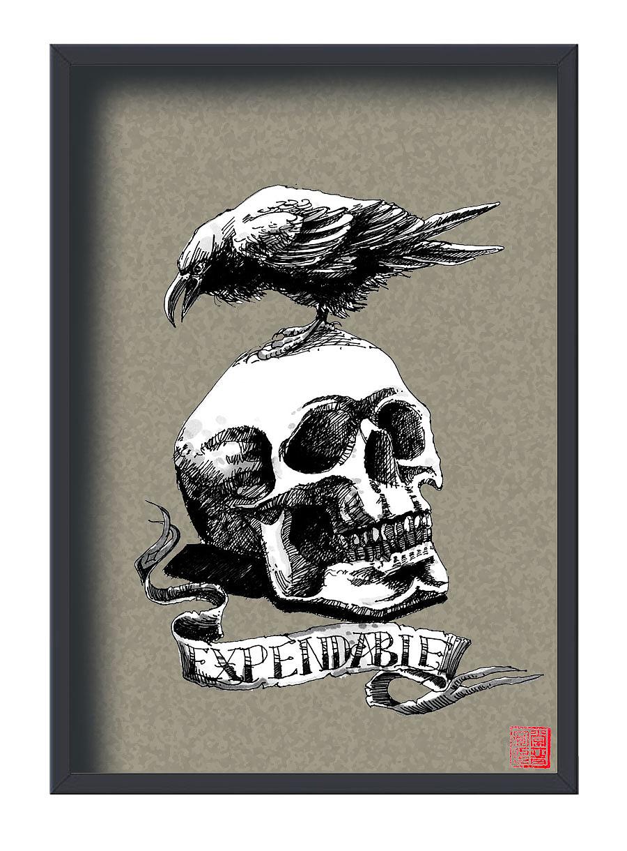 手绘海报|纯艺术|钢笔画|画设计 - 临摹作品 - 站酷