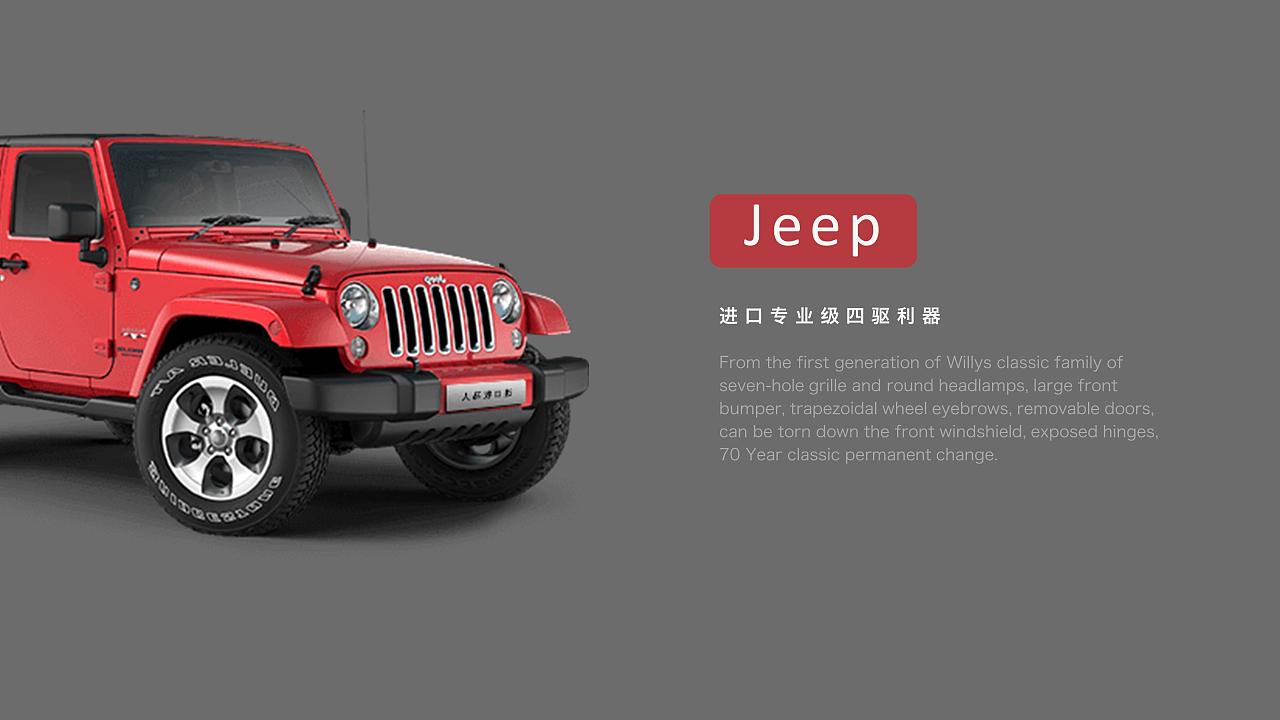jeep牧马人ppt