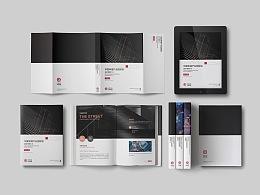 企业系列画册风格稿