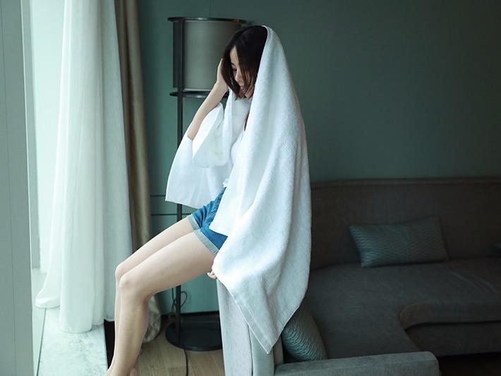 淘宝详情浴巾页v详情Luna是之前情趣用品图片