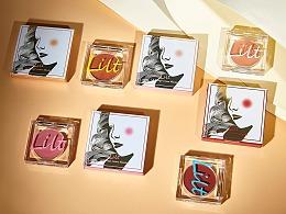 lilt腮红包装设计(彩妆)