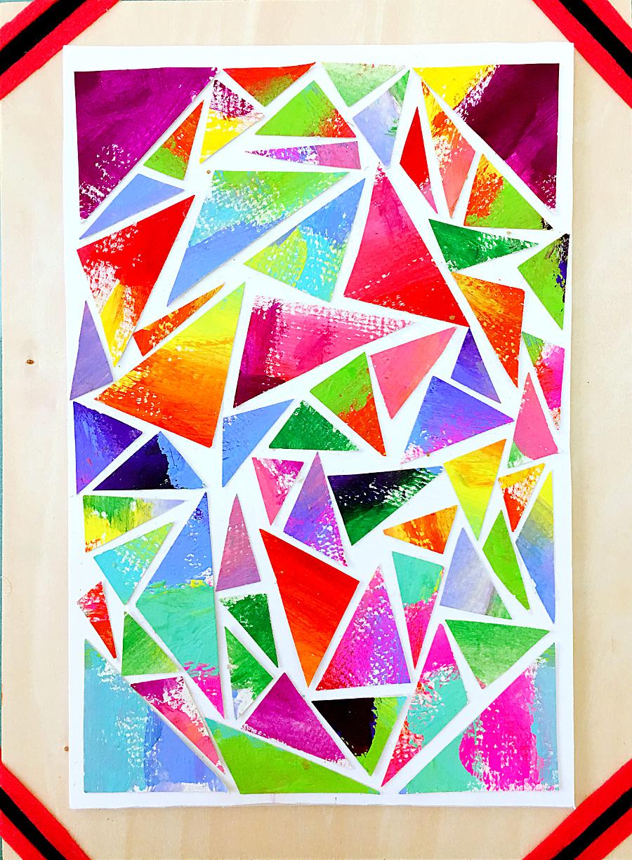 色彩搭配,绚丽的颜色 图形/图案 平面 何斌楠