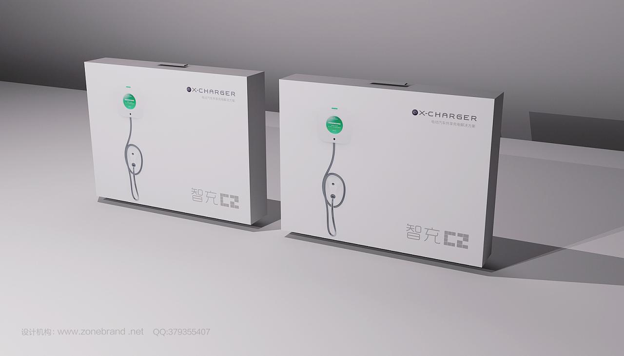 充电桩产品包装设计,智能产品包装设计,深圳科技产品包装设计公司图片