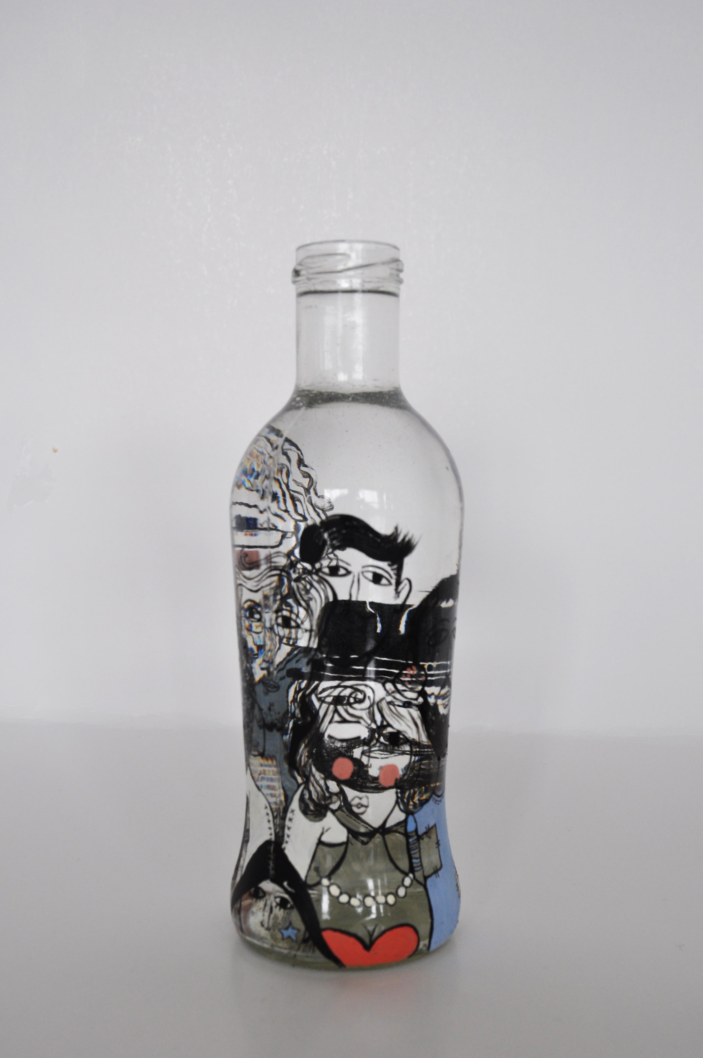 手绘瓶子—梦
