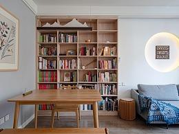 小房也能拥有惊人收纳力,利用原木白墙打造的禅意风