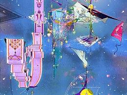 七宗罪 02 「懒 惰 - 钥匙型广场」