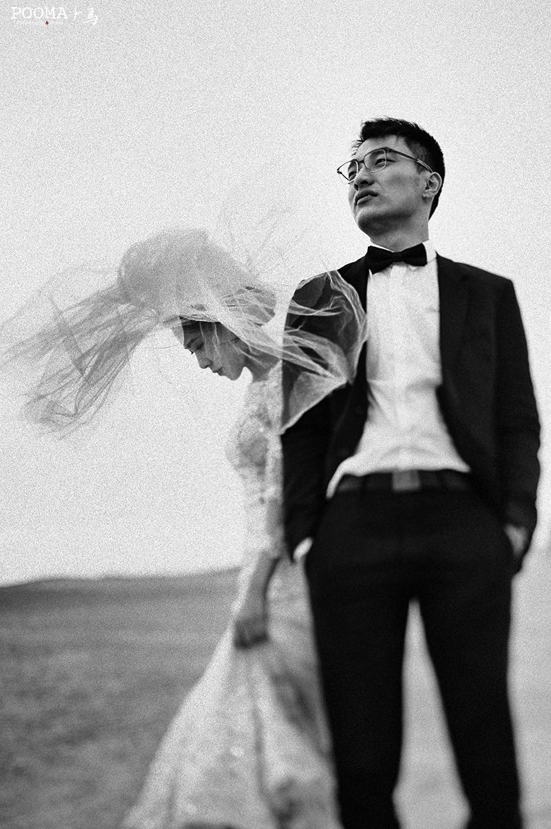 婚纱旅拍 敦煌胡杨林