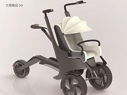 创意儿童手推车