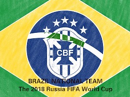 2018年世界杯绘画系列——巡礼五星闪耀巴西队
