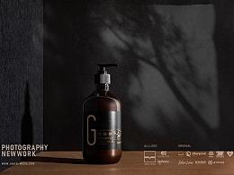 G姜疗洗发水 定制产品拍摄作品