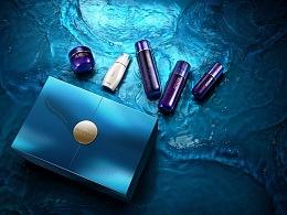 丸美蓝珊瑚海洋之恋限量礼盒设计