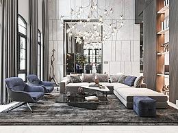 极简而舒适的优雅空间,精致而不失品味