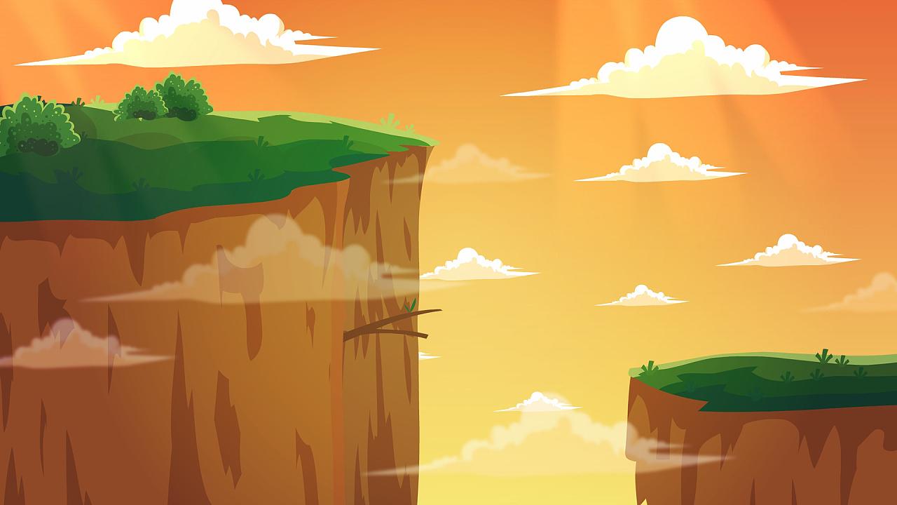 容易临摹的动漫图_二维动画矢量场景设计|动漫|动画片|宝塔_ - 原创作品 - 站酷 (ZCOOL)