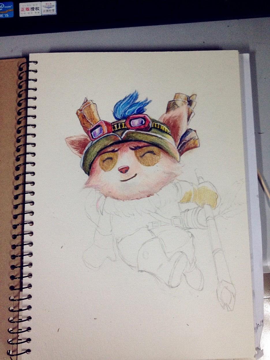 手绘彩铅练习
