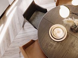 日常搬砖系列-VR现代客餐厅