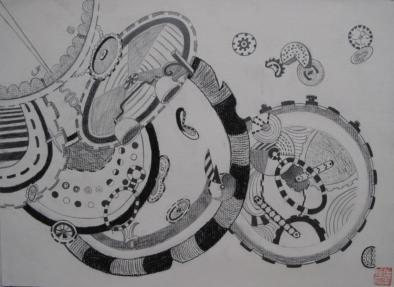 设计素描 插画 商业插画 yuezk - 原创作品 - 站酷图片