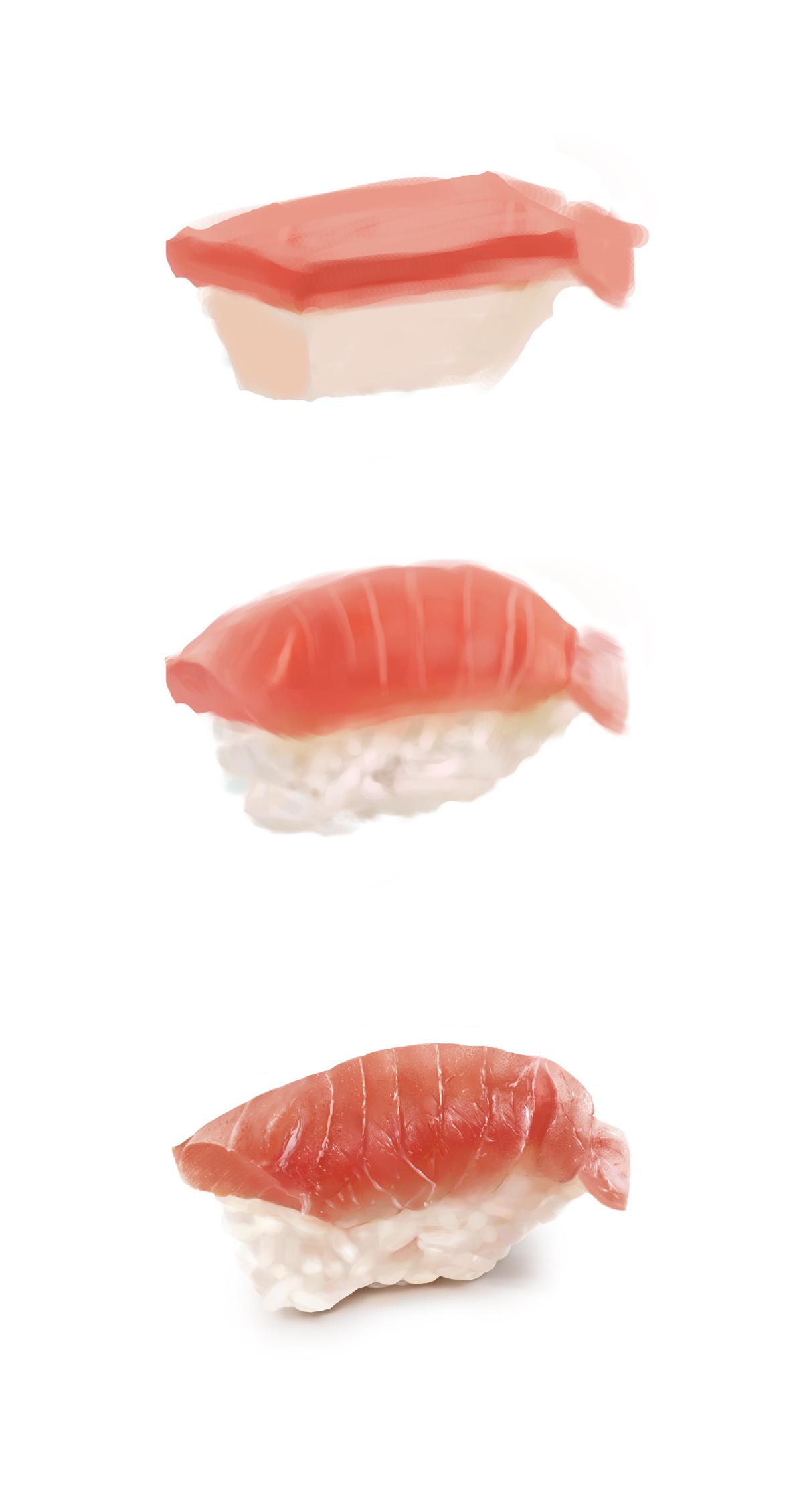手绘练习-寿司