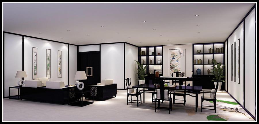 深圳某办公室效果图|室内设计|空间/建筑|木鱼兴达