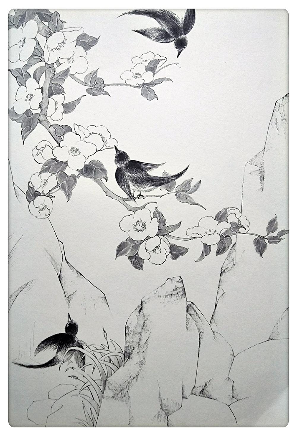 黑白风景画_黑白线描风景图片展示_黑白线描风景相关图片下载