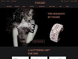 为TASAKI做的一个官网