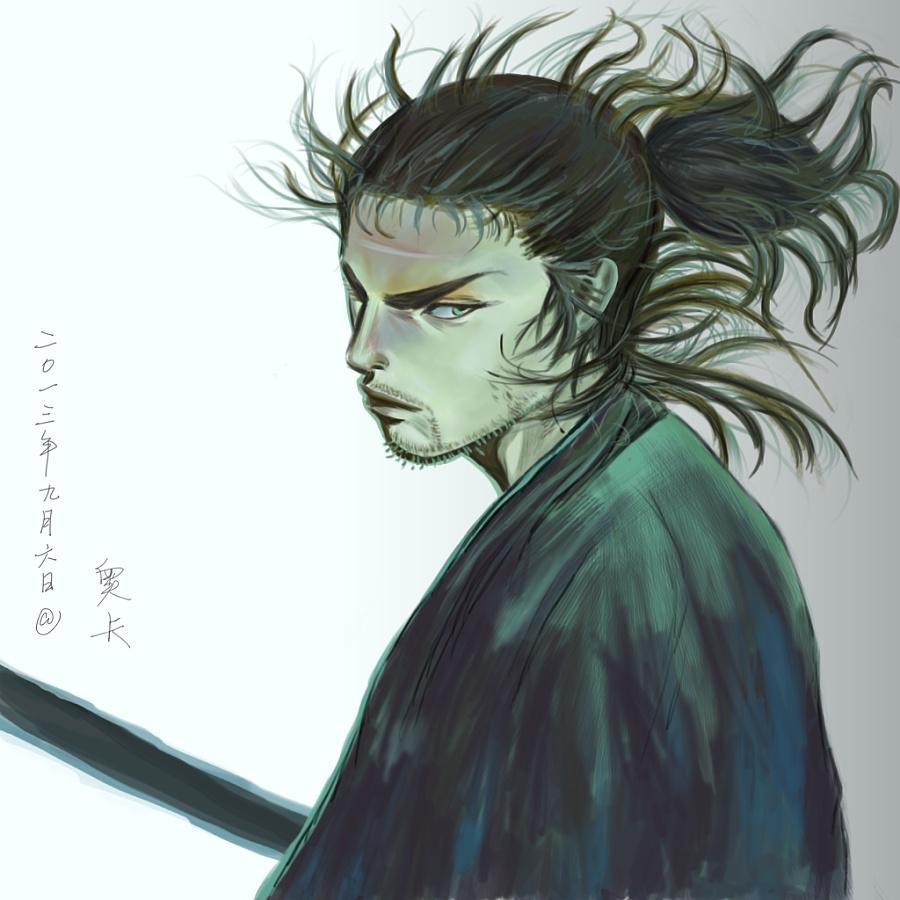 查看《宫本武藏》原图,原图尺寸:1024x1024