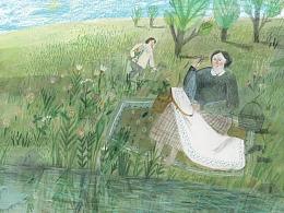 绘本作品《河流是什么》
