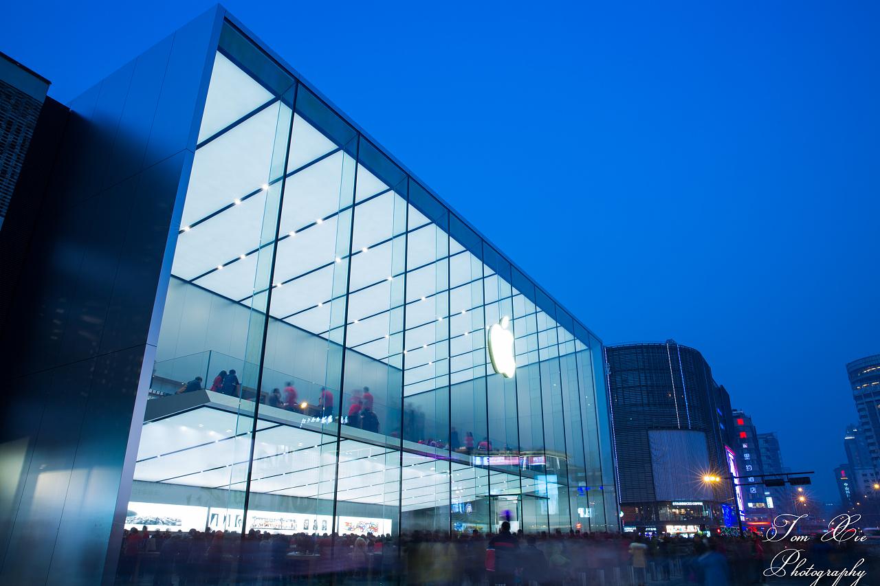 苹果旗舰店_亚洲最大苹果旗舰店 摄影 环境/建筑 Tomxie - 原创作品 - 站酷 (ZCOOL)