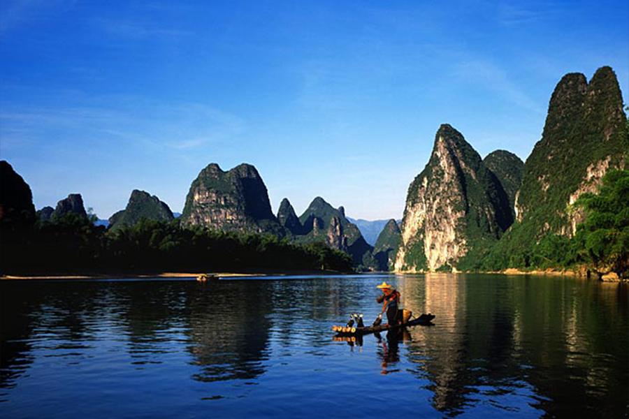 高清桂林山水风景图片_象鼻山图片