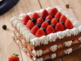 《花神蛋糕》哈尔滨雷鸣摄影 美女美食 产品商业摄影