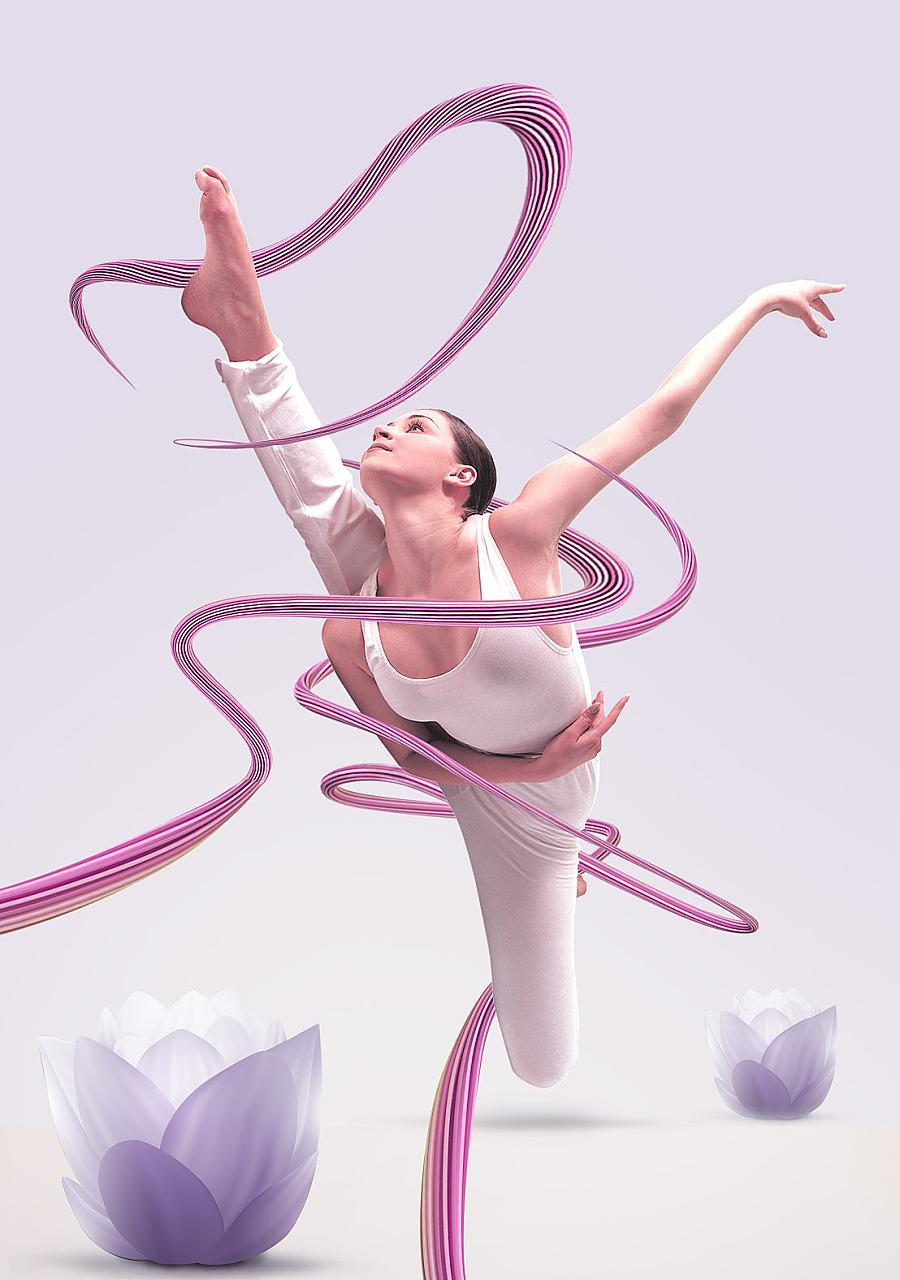 查看《瑜伽-线条穿插》原图,原图尺寸:1108x1576