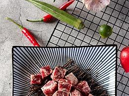 烤黑胡椒牛肉粒 