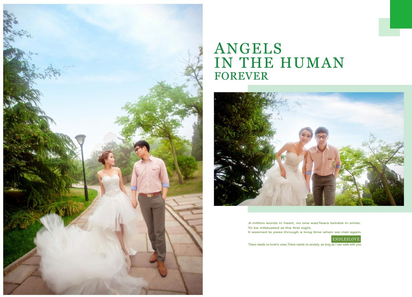 婚纱照相册排版欣赏 图片合集图片