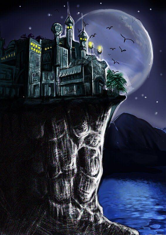 2013年画的游戏场景概念图图片
