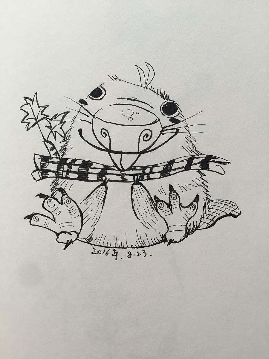 绘动物|绘本|动漫|一贰三肆 - 原创设计作品 - 站酷