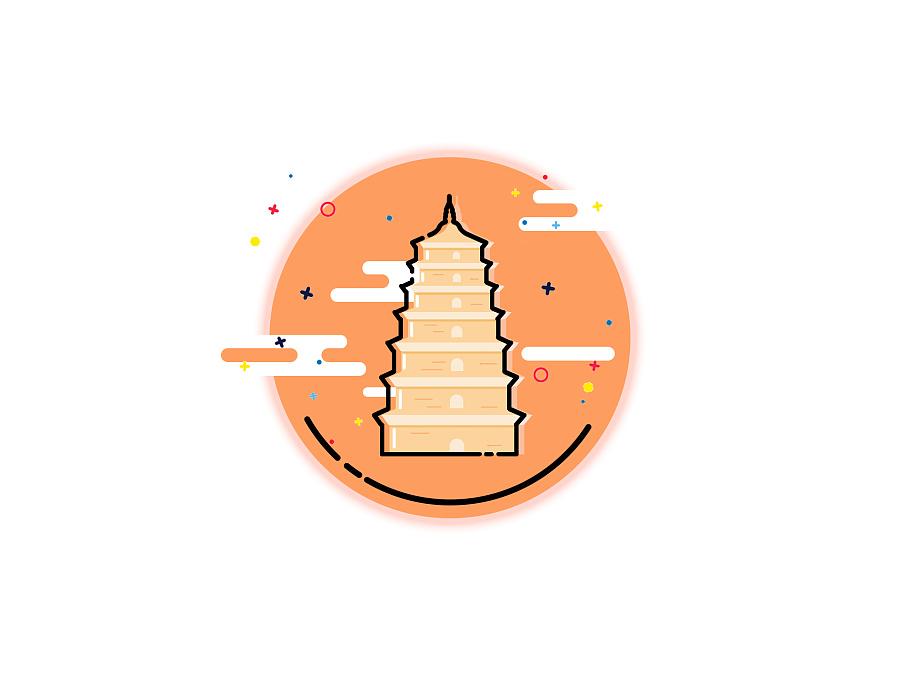 唐永徽三年(652年),玄奘为保存由天竺经丝绸之路带回长安的经卷佛像